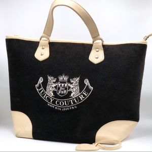 ✨Juicy Couture✨large genuine leather tote